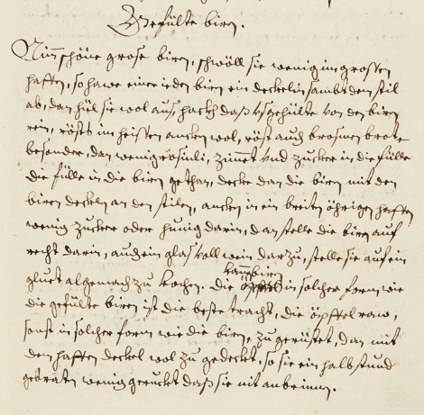 The recipe as written in the manuscript