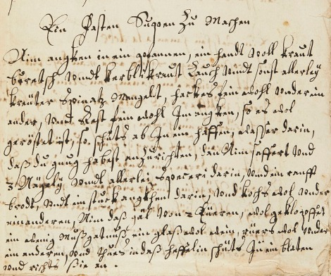 The recipe as it appears in ms38990