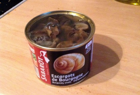 Snails in a can