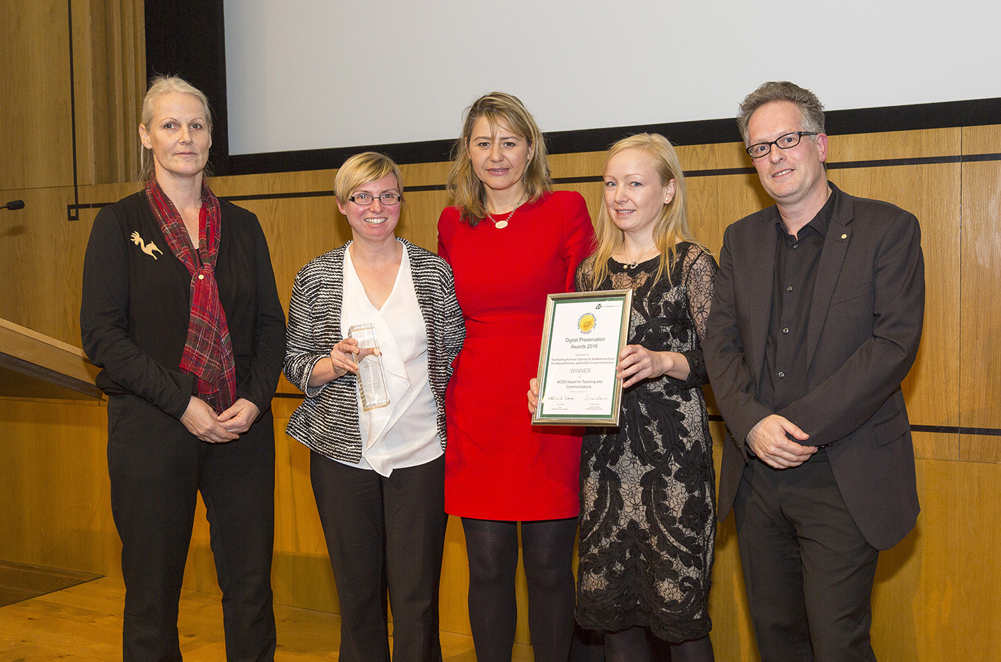 Skills for the Future Archival traineeships recognised in