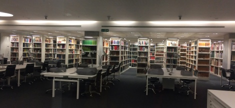 Aberdeen University Wolfson Reading Room
