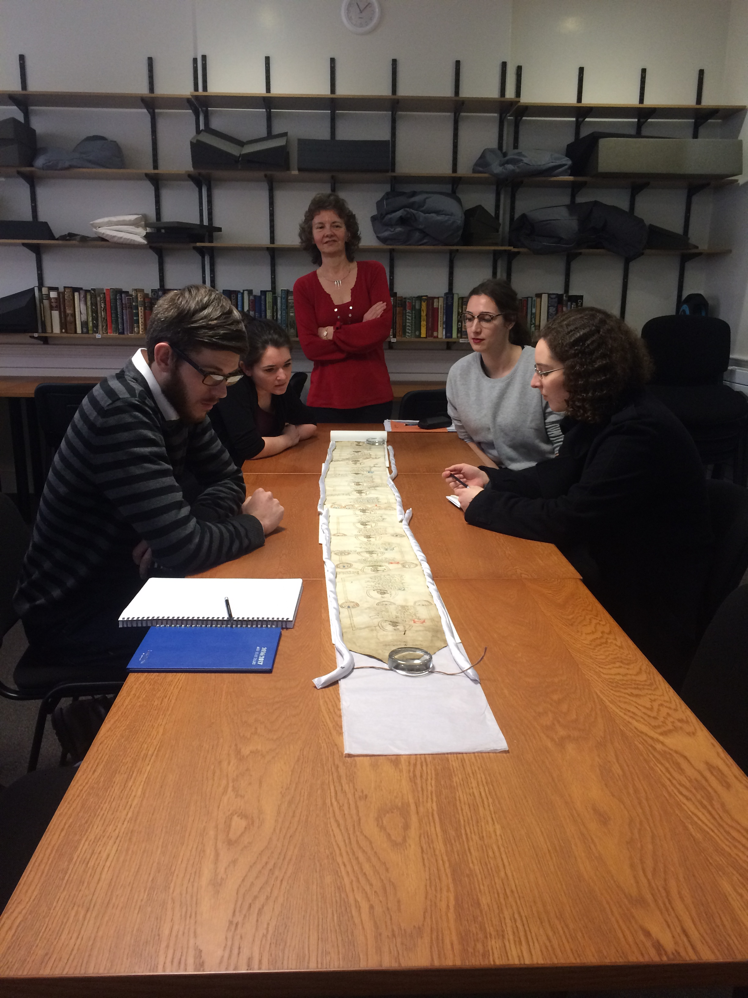 Palaeography Class Trip 2016/17 | Echoes from the Vault