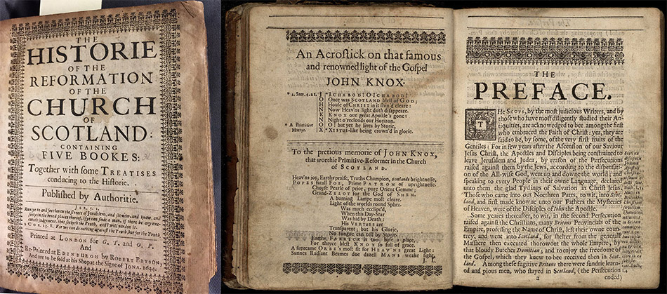 The History of the Reformation in Scotland