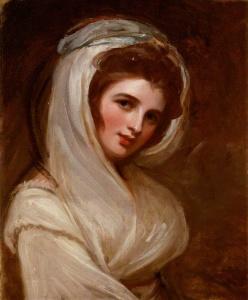 Romney, George, 1734-1802; Emma, Lady Hamilton