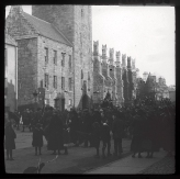 """Peace"" Procession along North Street, 11 November 1918 (JHW-C-158)"